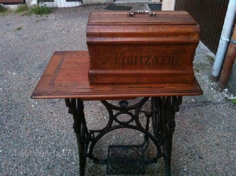 Ancienne machine à coudre Gritzner 96265749