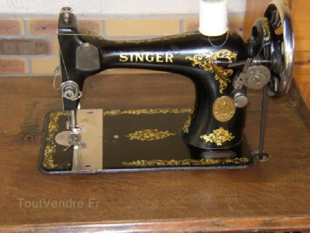 ANCIENNE MACHINE A COUDRE SINGER 105423541