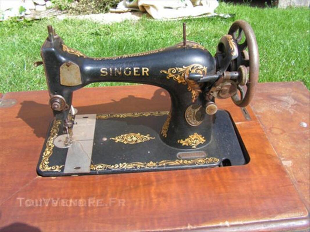 Ancienne machine à coudre singer 45535870