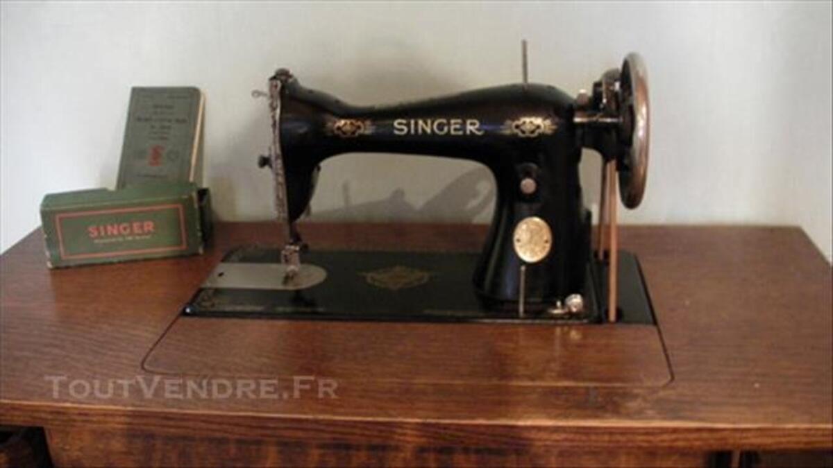 Ancienne machine à coudre SINGER 85670482
