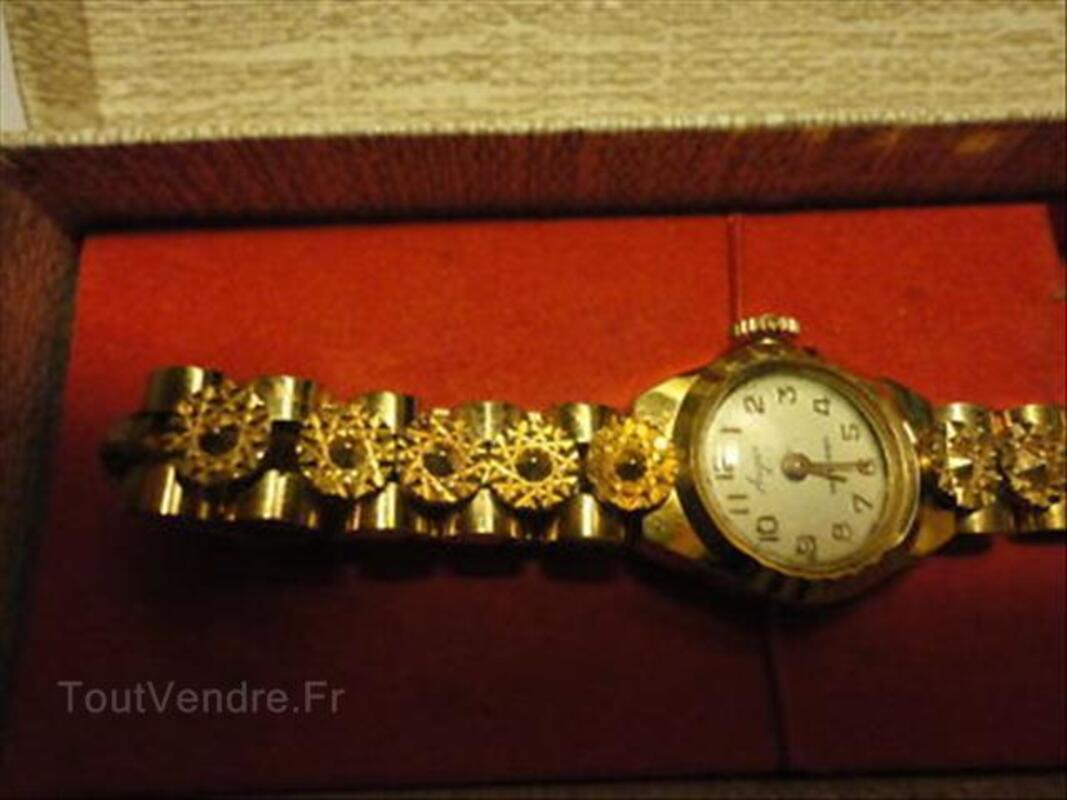 Ancienne montre femme  plaqué or qui fonctionne. 56404188