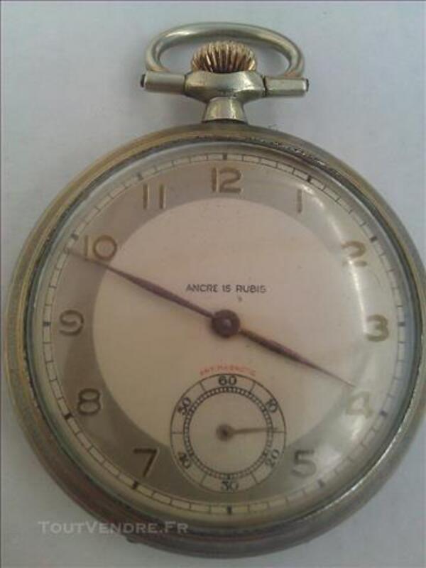 ANCIENNE montre gousset ANCRE 15 RUBIS ANTIMAGNETIC 77358918