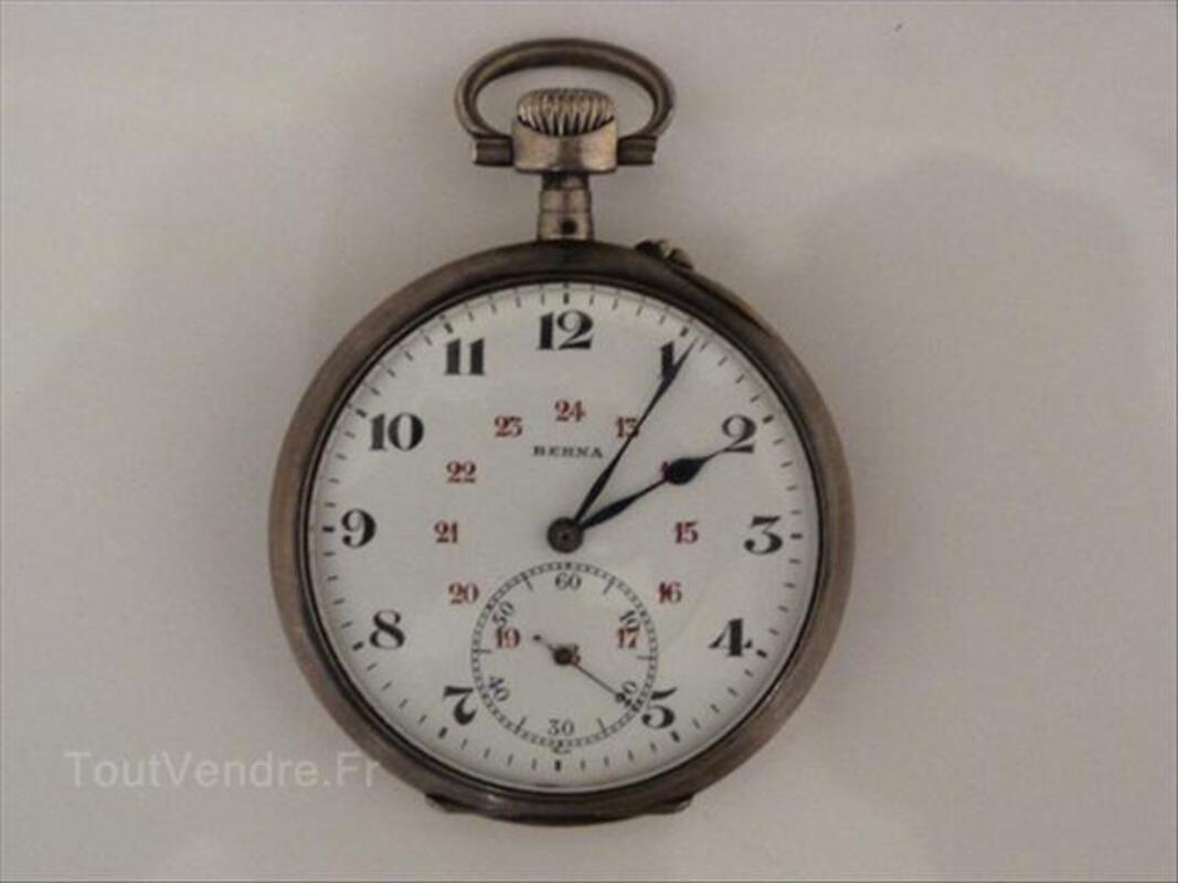 Ancienne montre gousset Berna époque 1900 64518889