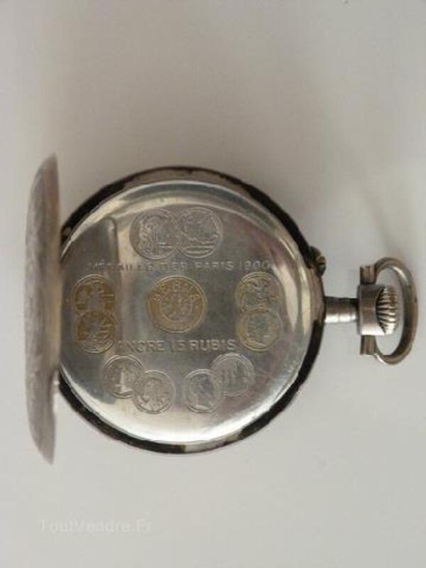 Ancienne montre gousset Berna époque 1900 89515833
