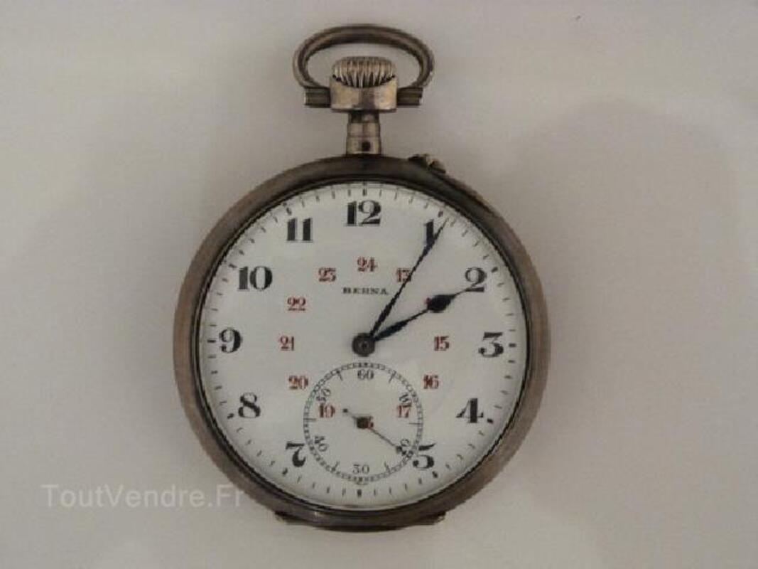Ancienne montre gousset Berna époque 1900 89515835