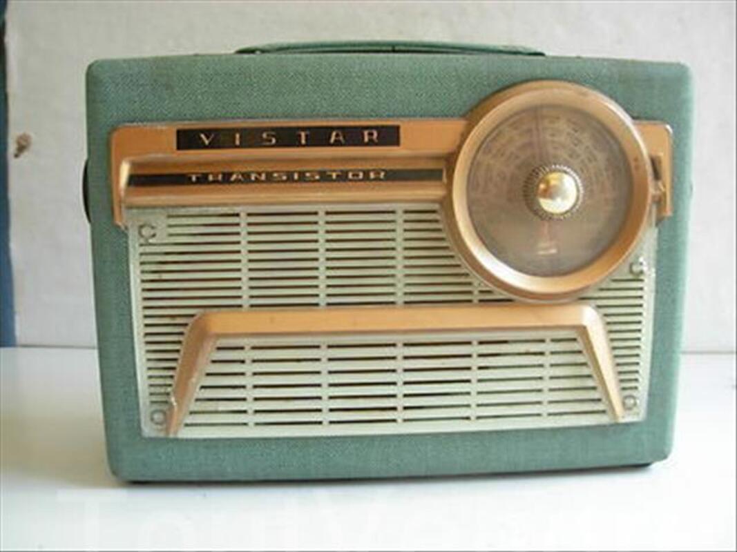 Ancienne Radio Transistor VISTAR 87863526