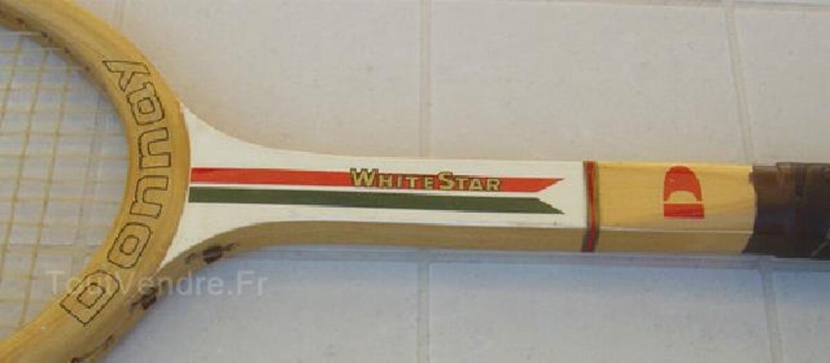 ANCIENNE RAQUETTE TENNIS DONNAY WHITE STAR 90436500
