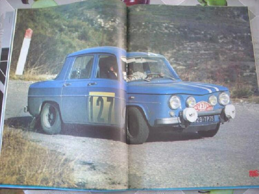 Ancienne revue 1984 avec renault r5 alpinegordini+A110 93819083