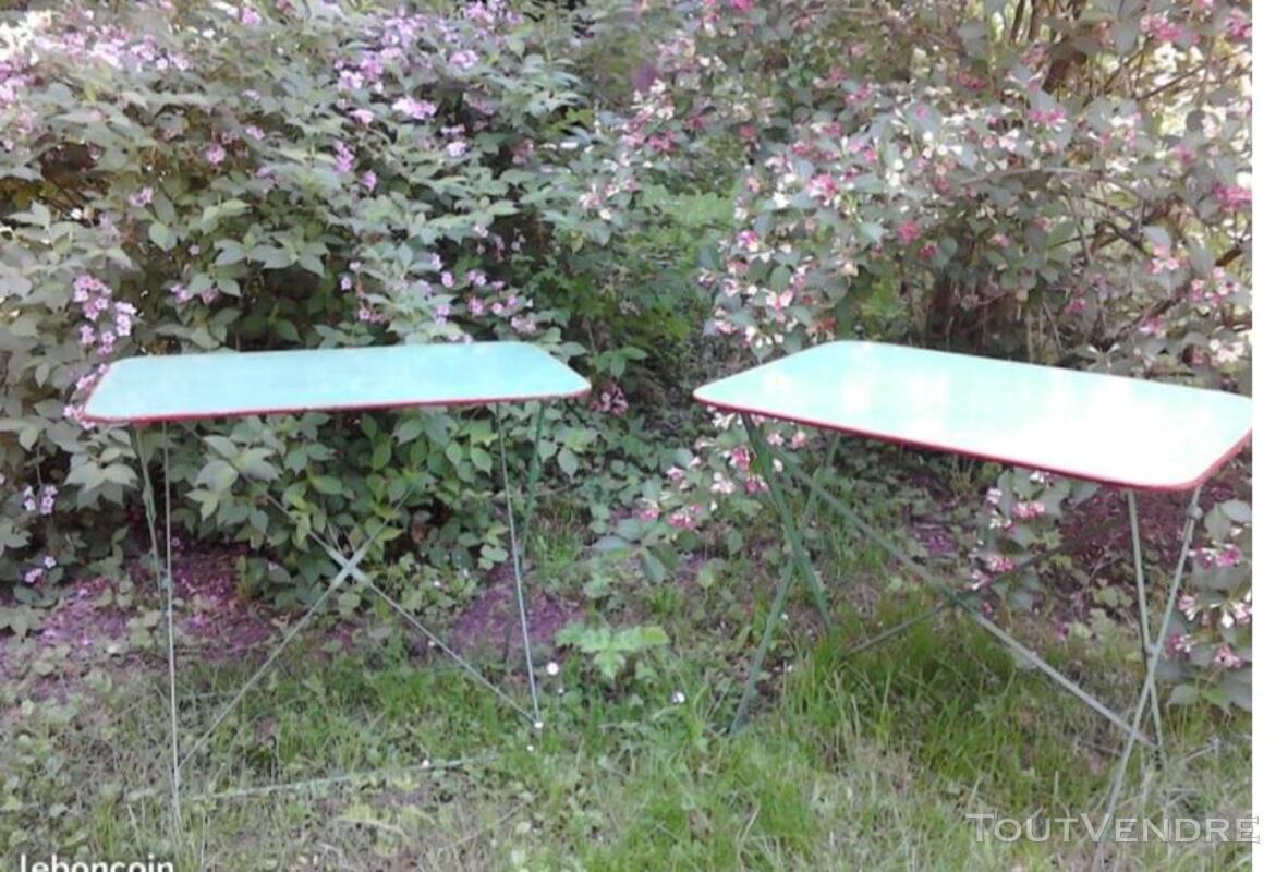 Ancienne Table Jardin Métal Rectangulaire Pliante suxn 349064539