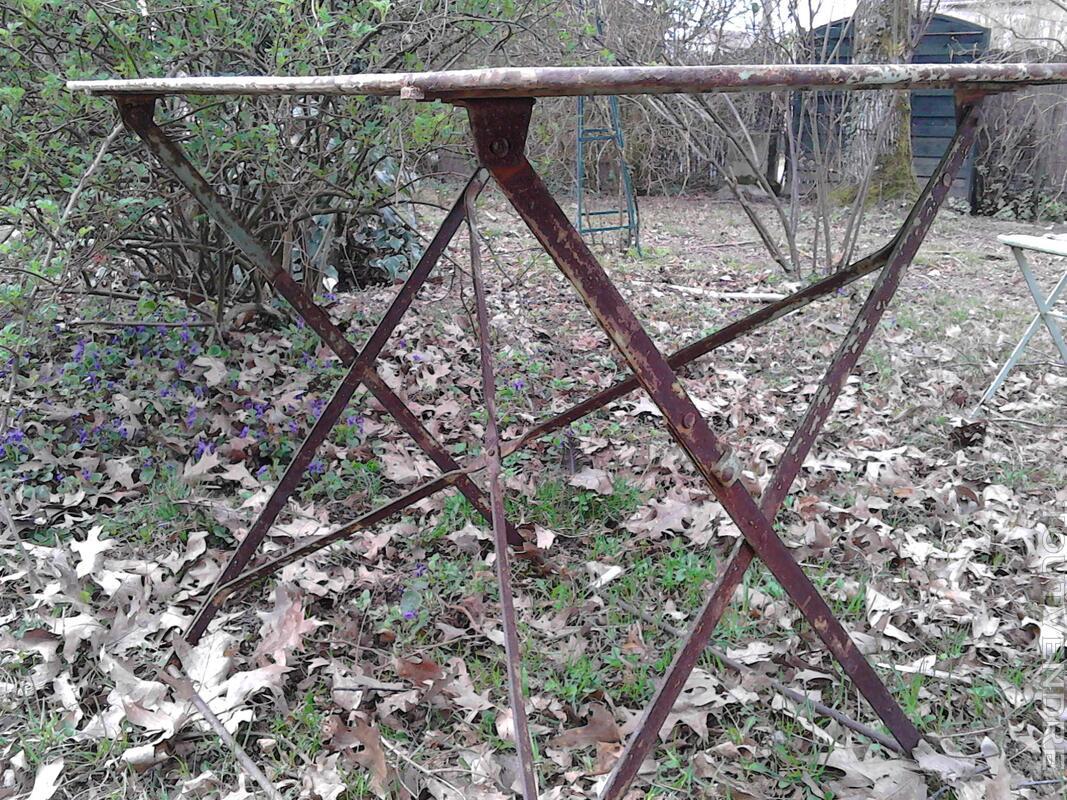 Anciennes Chaises fer&bois jardin/Balcon suxn 194441415