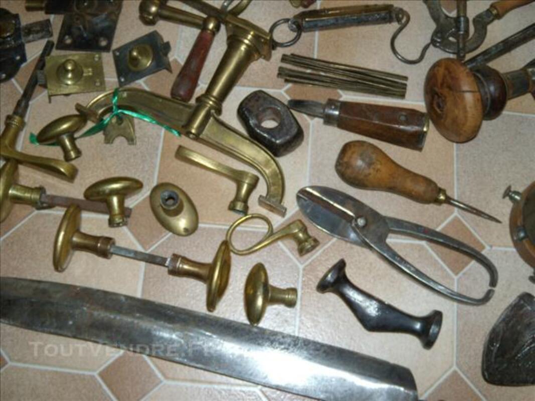 Anciens outils et objets divers métiers 76616739