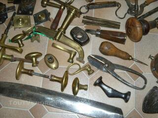 Anciens outils et objets divers métiers