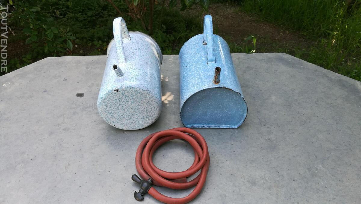 Anciens Pots à lavement émaillés 518698148