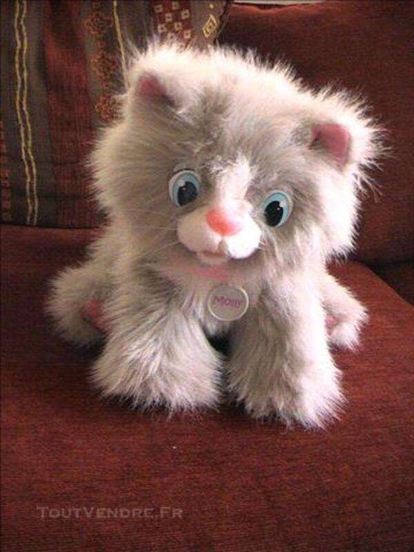 Animagic- mon chaton molly interactif détecteur mouvements 80921760