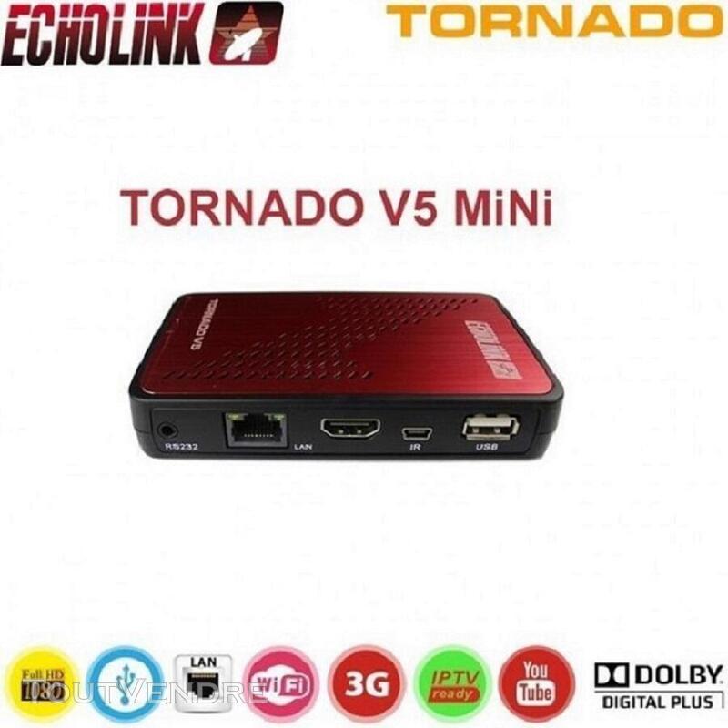 Antenne Boitier IPTV Canalsat tout inclus Echolink Tornado V 635439830