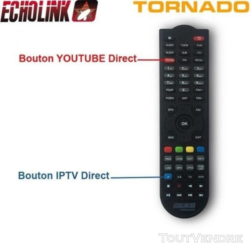 Antenne Boitier IPTV Canalsat tout inclus Echolink Tornado V 635439872