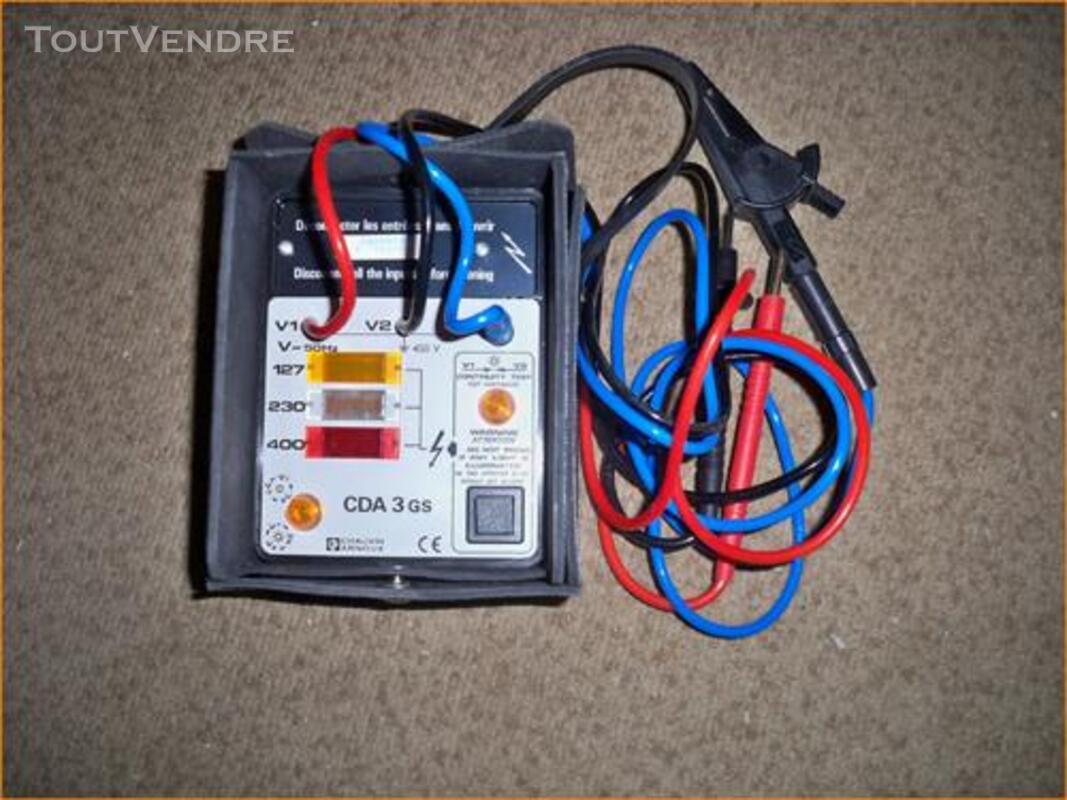Appareil de mesure d'électricien neuf (Controleur de phase ) 319693693