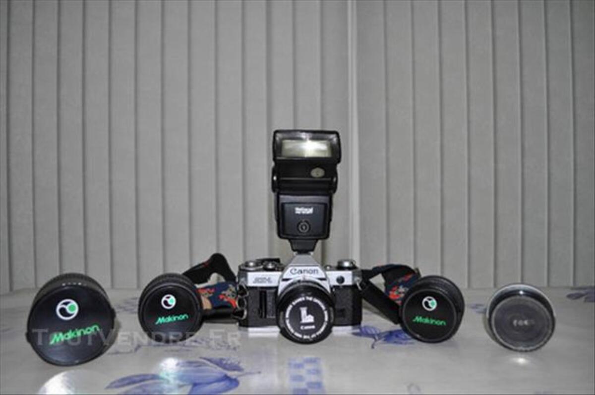 Appareil photo argentique Canon AE1 77552599
