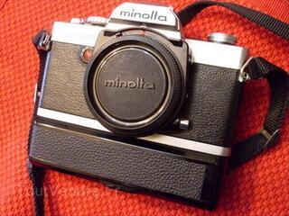 APPAREIL PHOTO ARGENTIQUE REFLEX MINOLTA XG9 + WINDER G