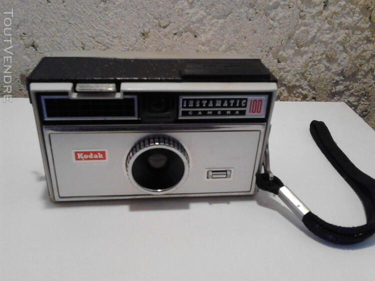 Appareil Photo Instamatic Camera 100 Kodac Vintage suxn 184135040