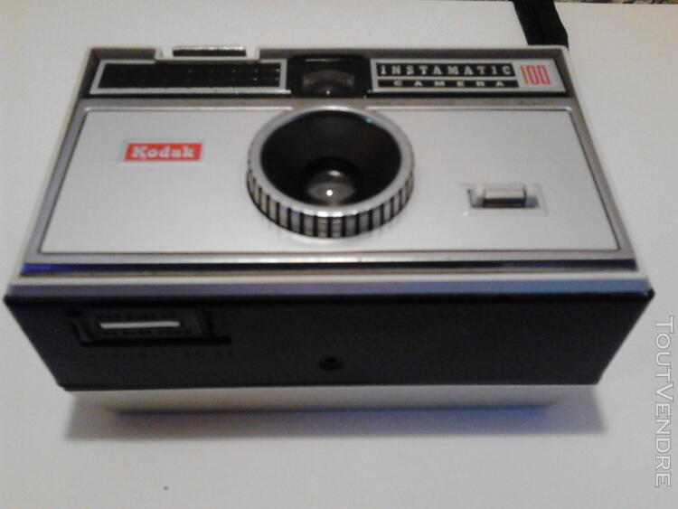 Appareil Photo Instamatic Camera 100 Kodac Vintage suxn 184135052