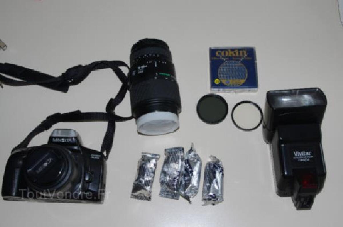 Appareil photo MINOLTA Dynax 300SI et accessoires 89840078