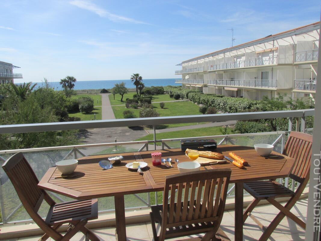 Appartement tout confort en 1ere ligne sur la plage 125731585