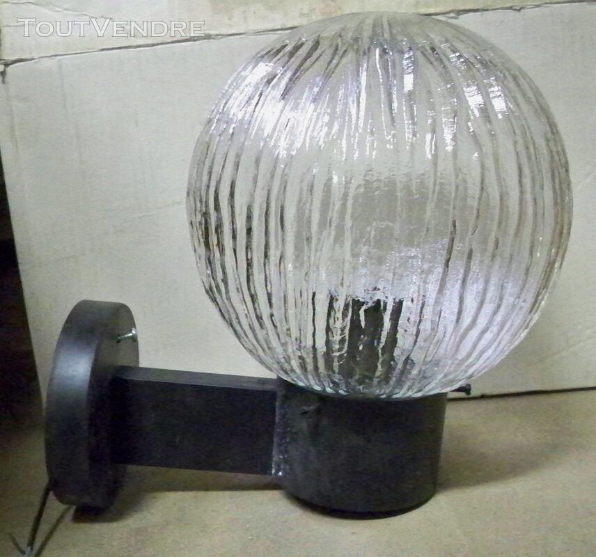 Applique extérieure Boule verre dim: 200 (neuve) 319693723