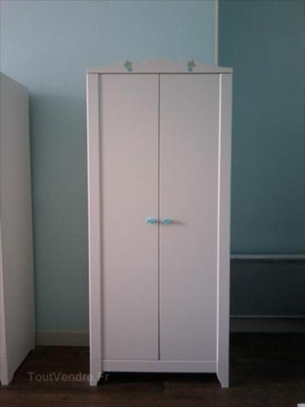 Armoires enfant blanches IKEA HENSVIK 64451850