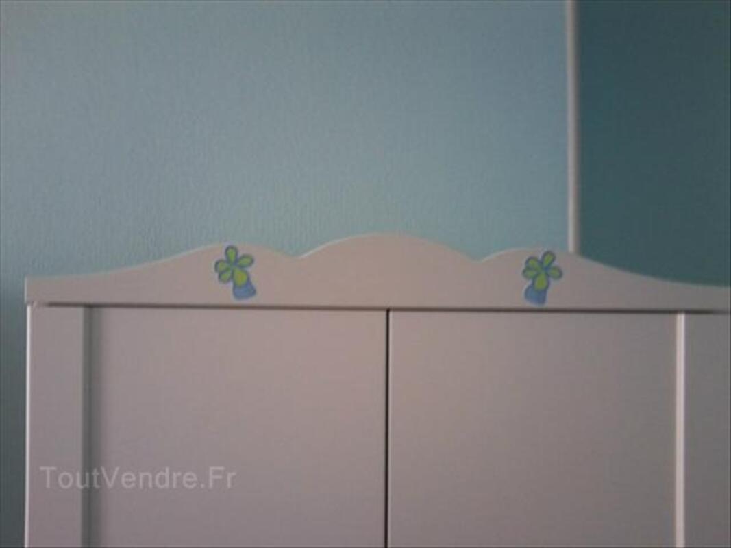 Armoires enfant blanches IKEA HENSVIK 64451852