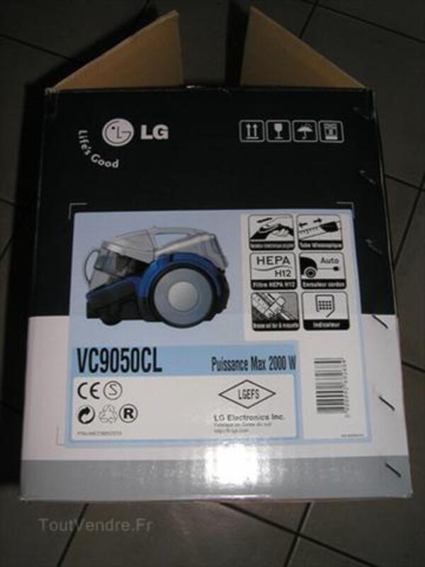 Aspirateur traineau sans sac LG type VC9050 kompressor 55972958