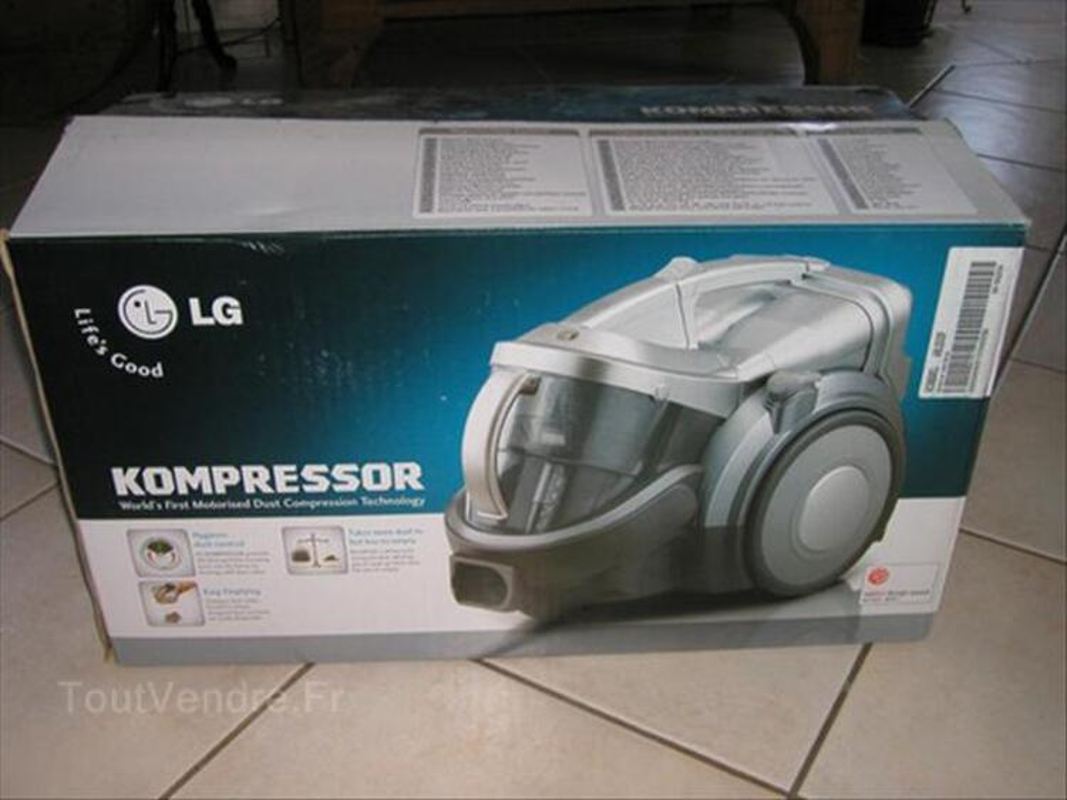 Aspirateur traineau sans sac LG type VC9050 kompressor 55972959