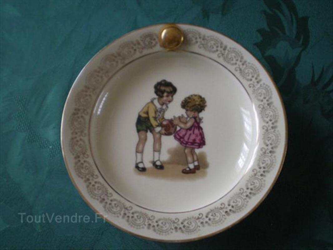 Assiette bouillie ancienne Porcelaine 56192982