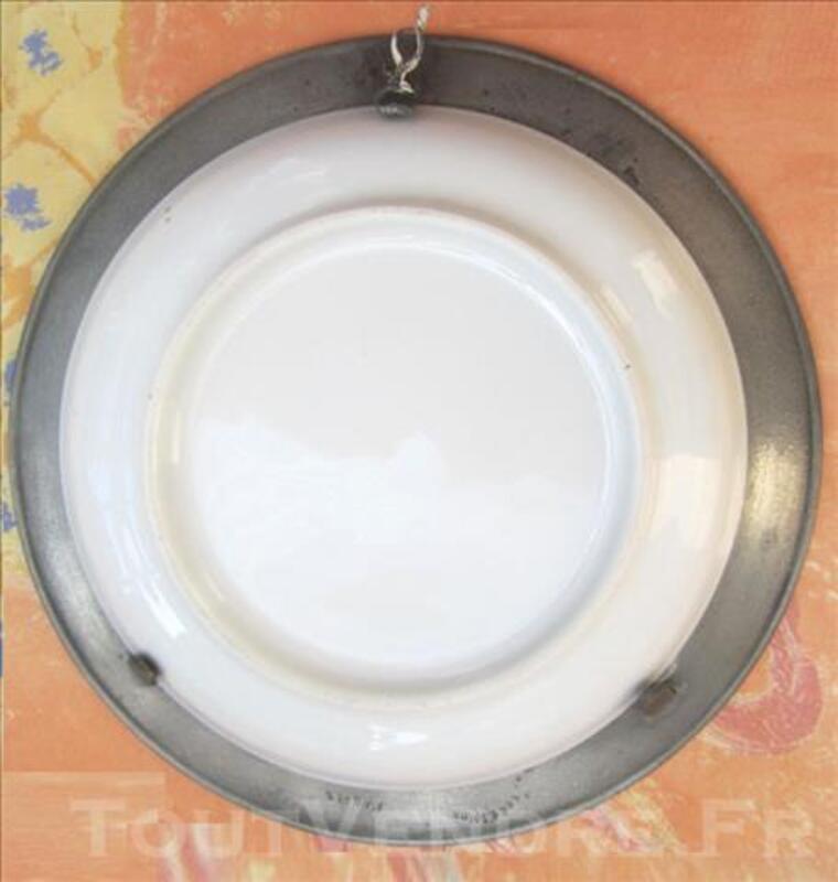 Assiette chauvigny, marchande de poires cuites 79628334