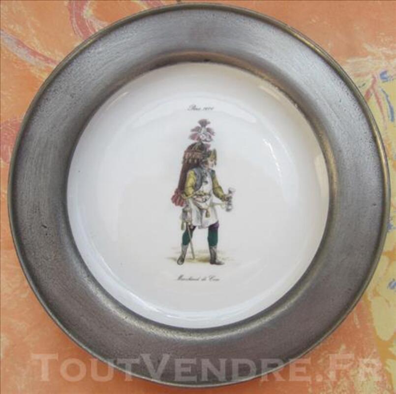 Assiette chauvigny, Paris 1600 marchand de coco 79628330