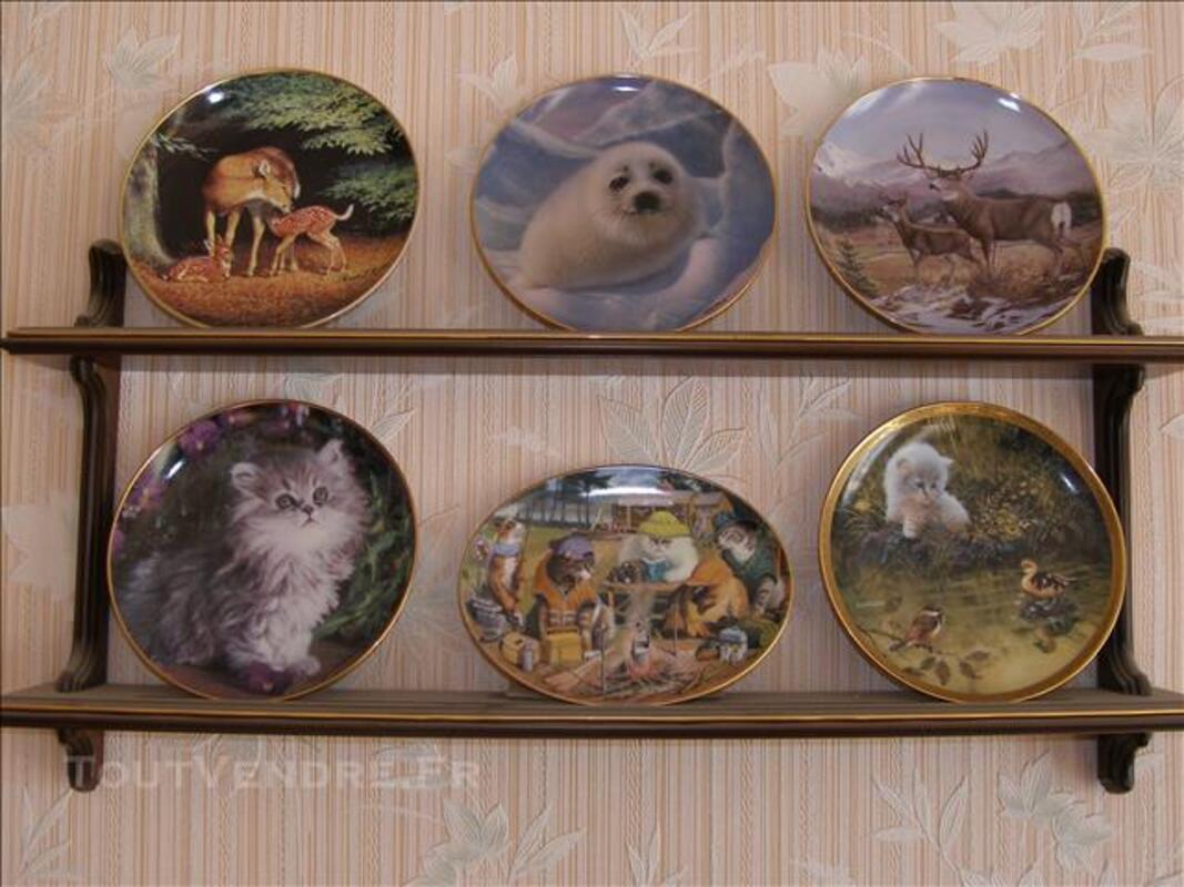 Assiette de collection décorée par Ed Bierly 85946033
