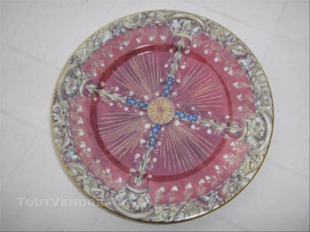Assiette en porcelaine de Philippe Deshoulières 74006807