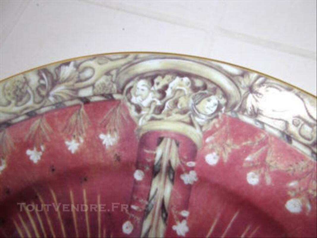 Assiette en porcelaine de Philippe Deshoulières 74006808