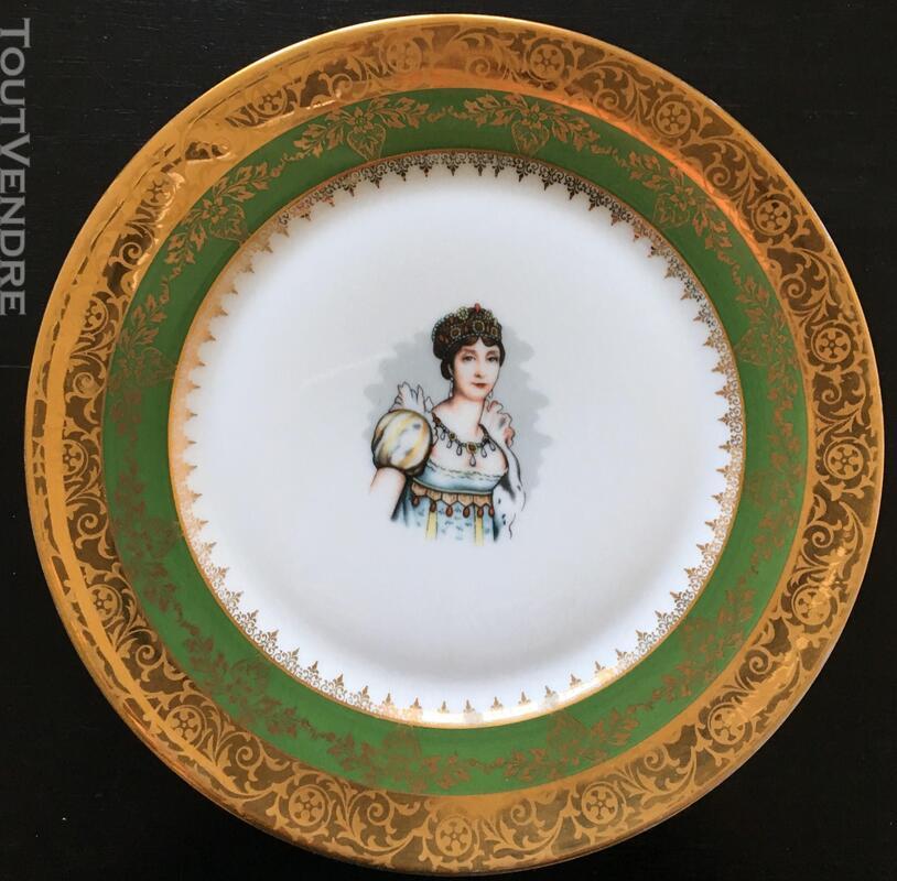 Assiette en Porcelaines de 26cm (Joséphine ) 383352021