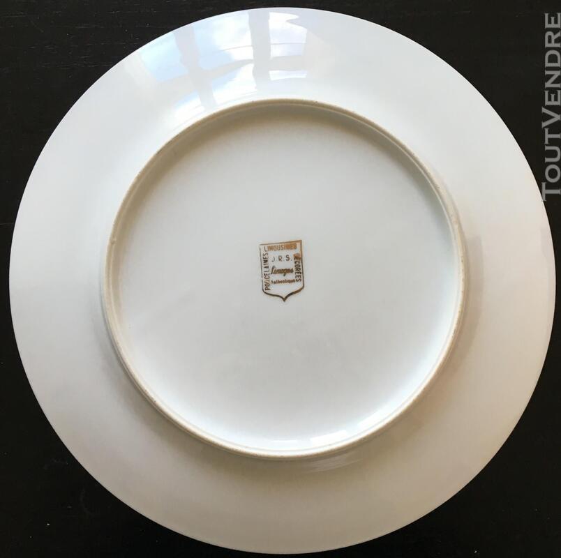 Assiette en Porcelaines de 26cm (Joséphine ) 383352039