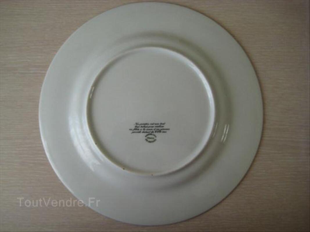 "Assiette ""Fragonard"" en porcelaine de Limoges 56068421"