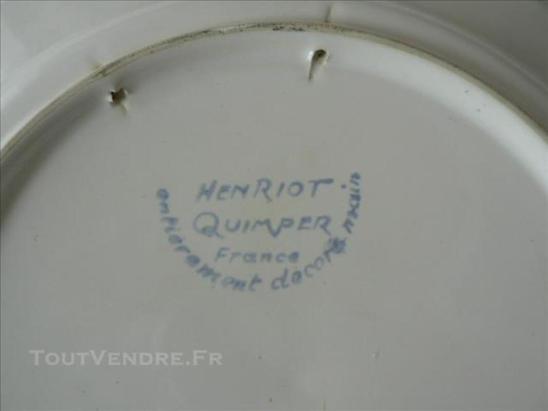 ASSIETTE HENRIOT QUIMPER 77421457