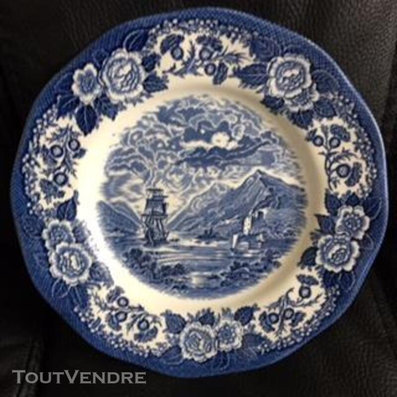 Assiette Plate de collection Anglaise 383651925