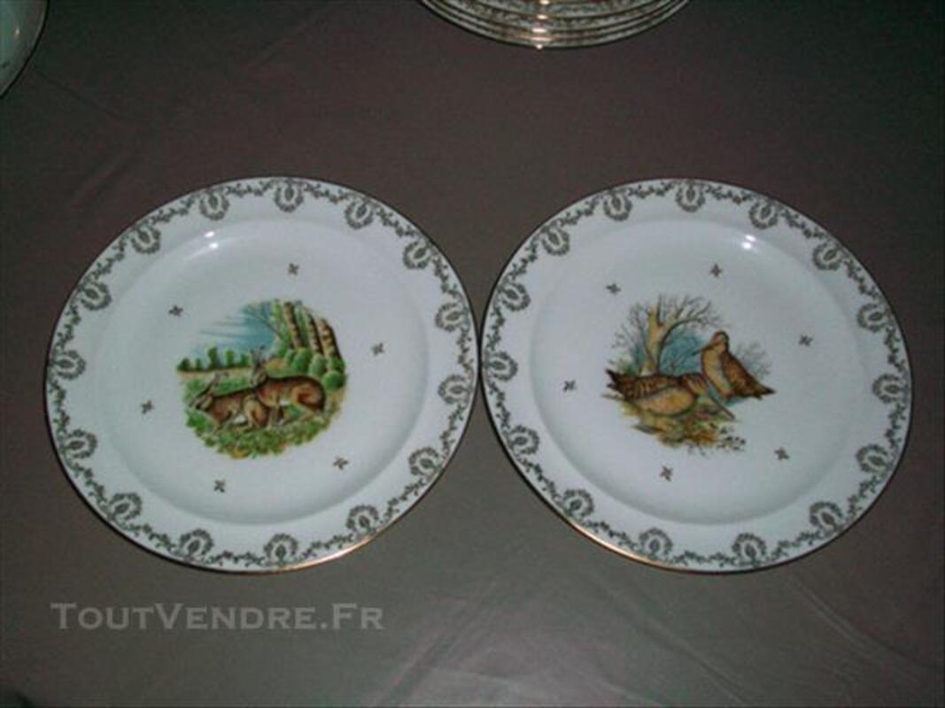 Assiettes porcelaine de limoges 83083505