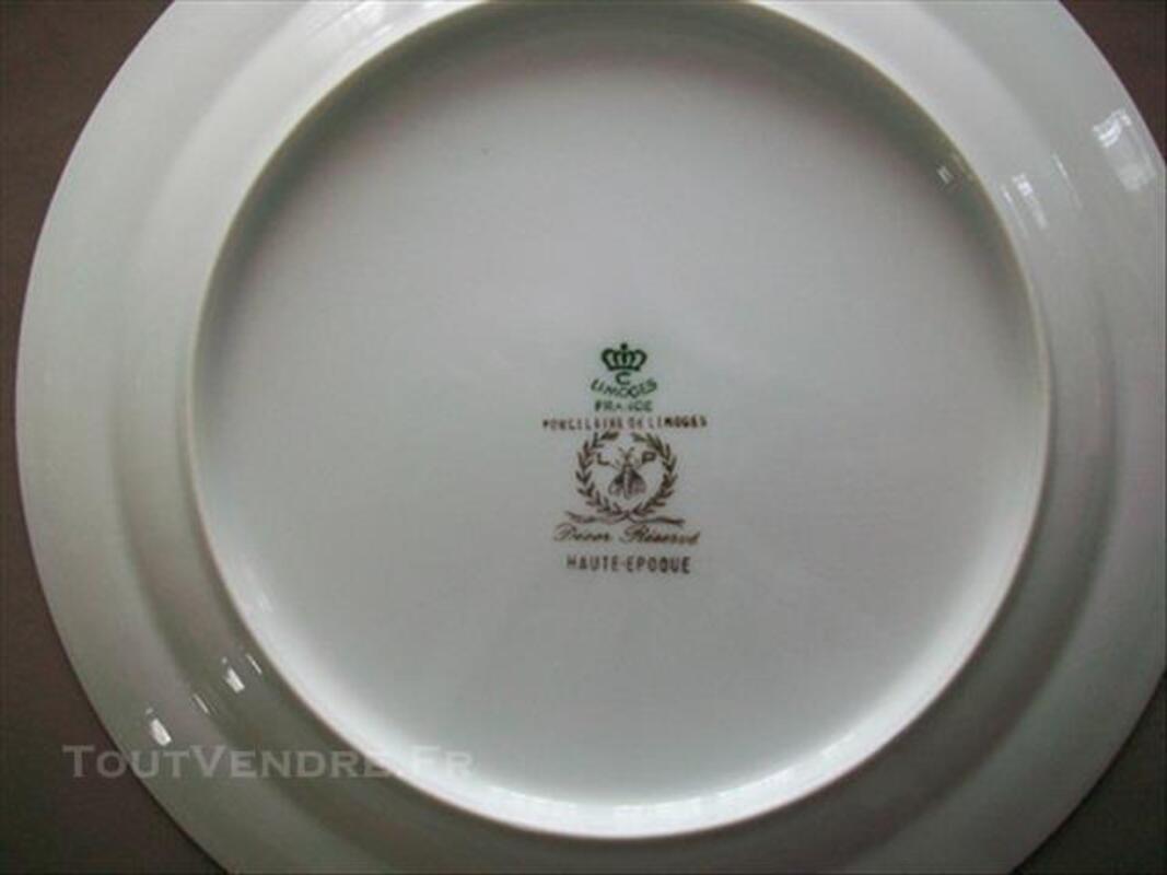 Assiettes porcelaine de limoges 83083506