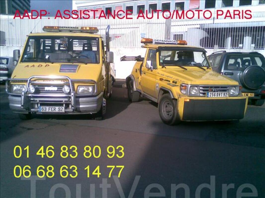Assistance auto depannage de paris 06 68 63 14 77 382842