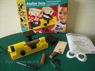Atelier bois jeu SMOBY idéal pour enfant