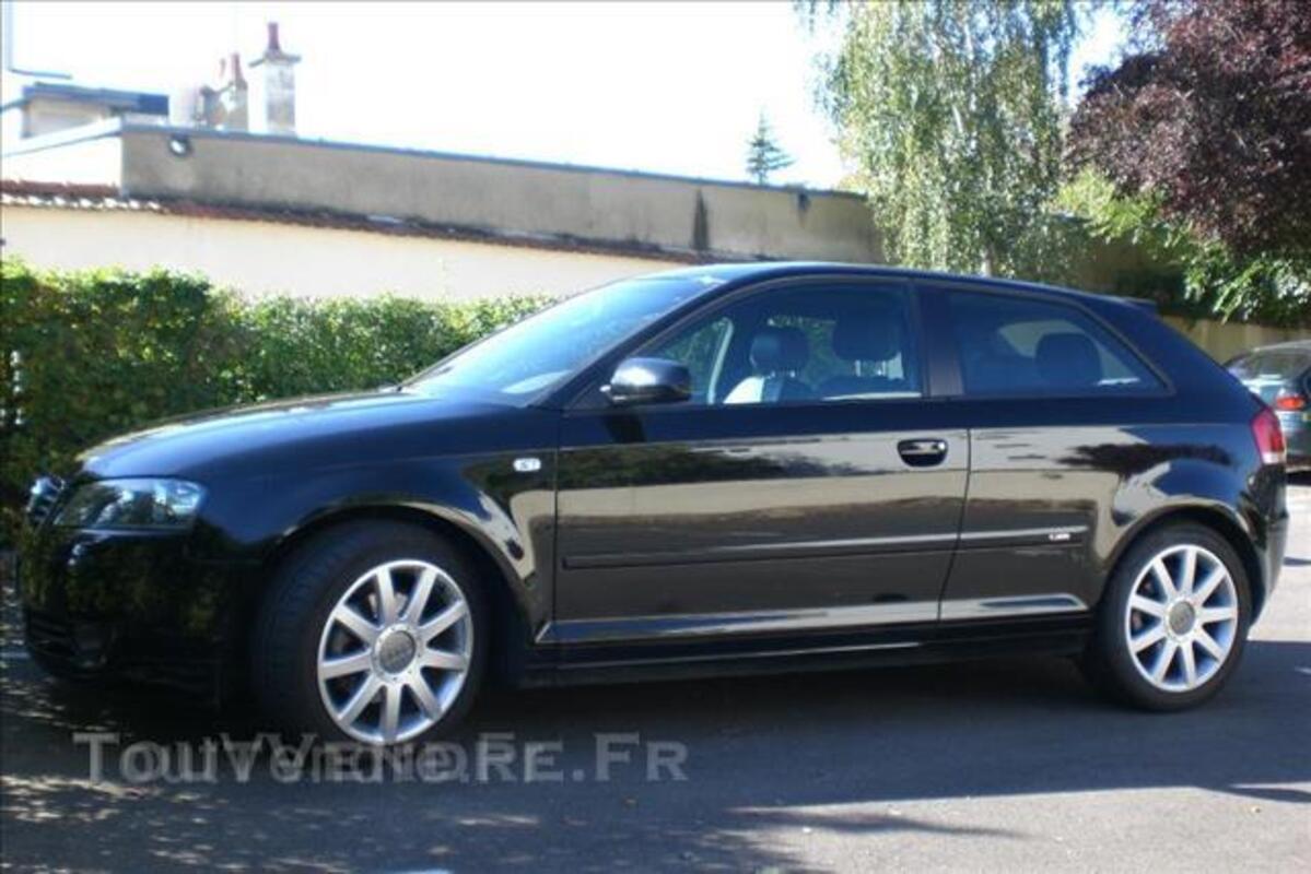 Audi A3 S-lines tdi 105 noir fantôme full options 106172174