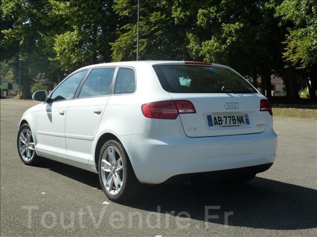 AUDI A3 Sportback 2.0 TDI 140Ch Ambition 2009 44715340