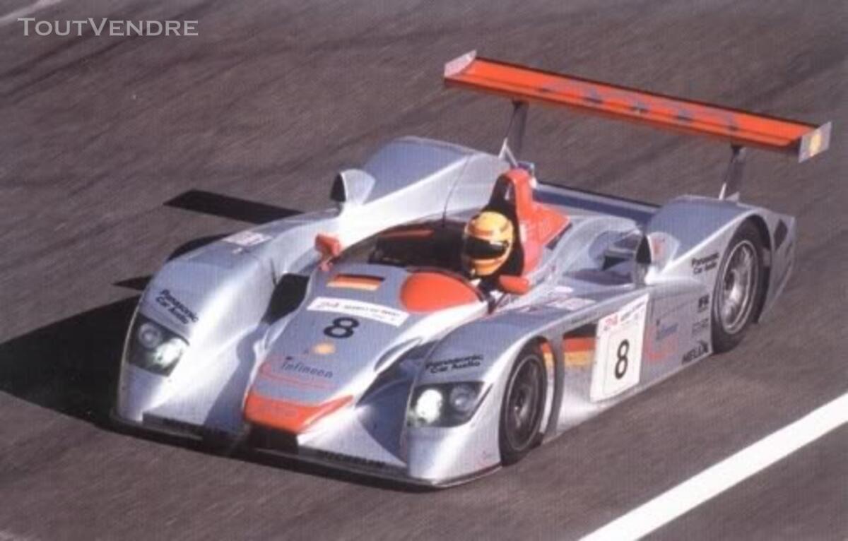 Audi R8 #8 vainqueur 24H du Mans 2000 Maisto 1/18 125735812
